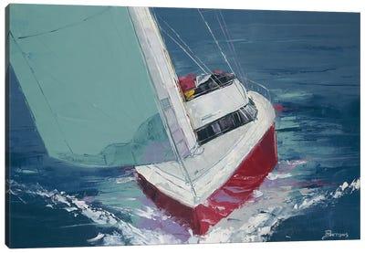 Day Sailing Canvas Art Print
