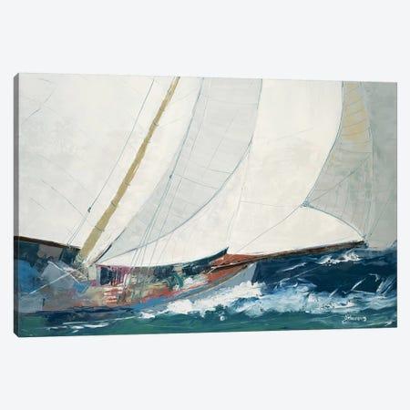Full Deck Canvas Print #BRW17} by John Burrows Canvas Wall Art