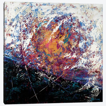Invincible Canvas Print #BRW1} by John Burrows Canvas Art