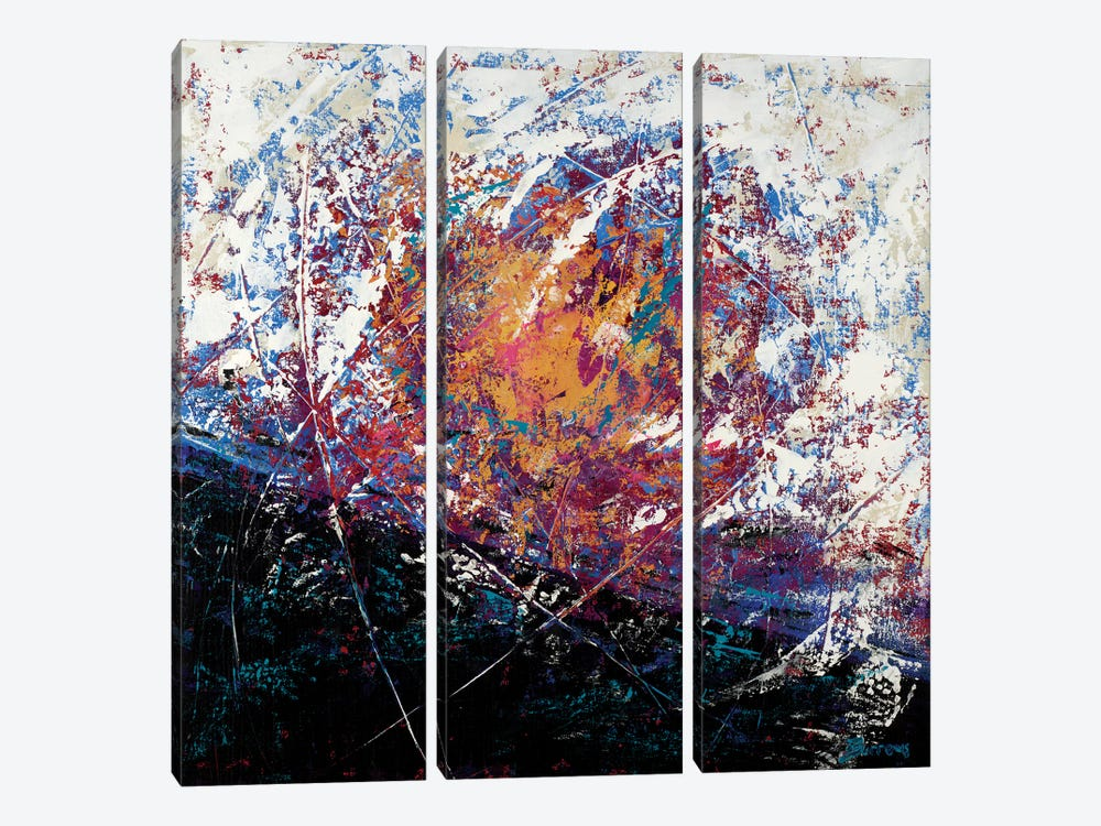 Invincible by John Burrows 3-piece Canvas Art Print