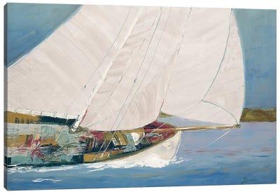 Lake Sailing Canvas Art Print
