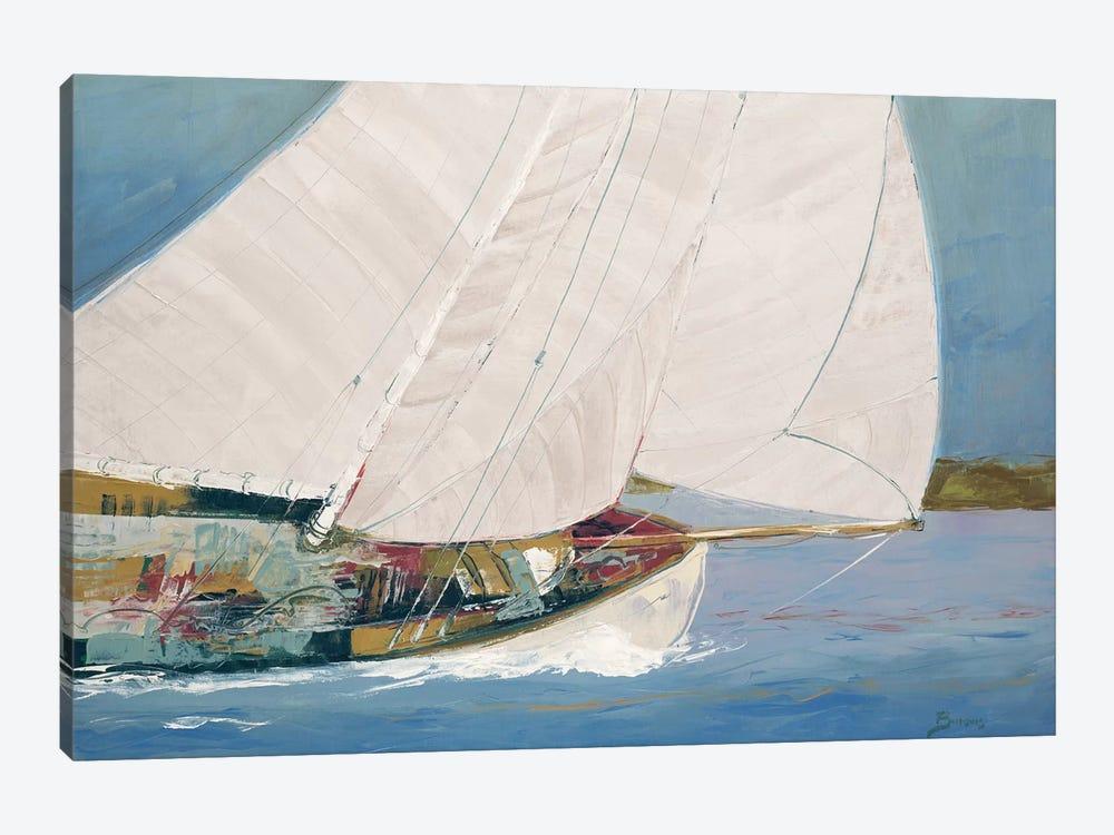Lake Sailing by John Burrows 1-piece Art Print