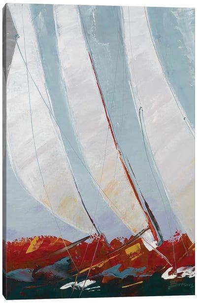 Racing the Wind Canvas Art Print