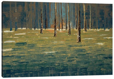 Forest Twilight Canvas Art Print