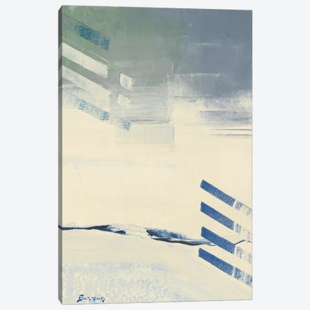 Incoming II 3-Piece Canvas #BRW32} by John Burrows Art Print