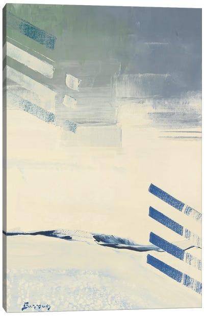 Incoming II Canvas Art Print