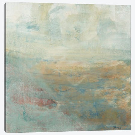 Skipping Stones 3-Piece Canvas #BRW37} by John Burrows Canvas Wall Art