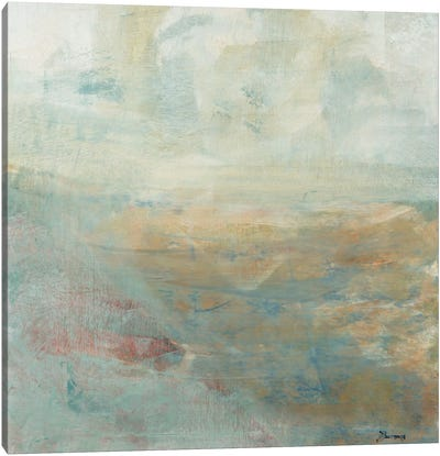 Skipping Stones Canvas Art Print