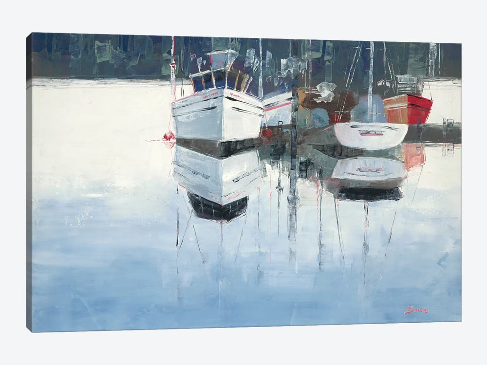 Dock Tight by John Burrows 1-piece Art Print