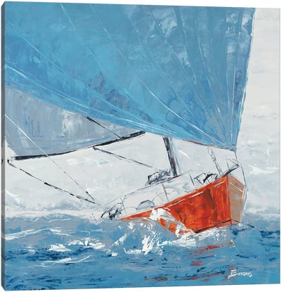 Grey Day Canvas Art Print