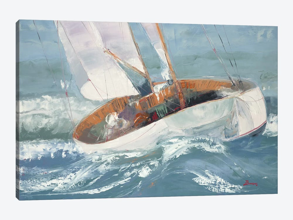 Out to Sea by John Burrows 1-piece Art Print