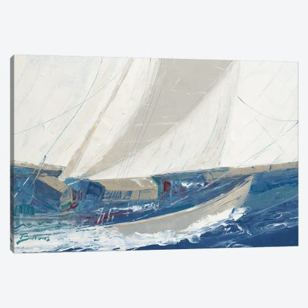 Port to Port Canvas Print #BRW6} by John Burrows Art Print