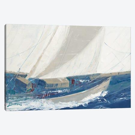 Port to Port Canvas Print #BRW6} by John Burrows Art Print