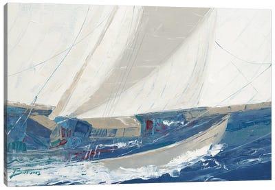 Port to Port Canvas Art Print