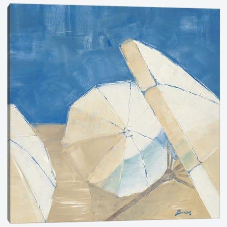 On the Beach Canvas Print #BRW9} by John Burrows Canvas Artwork
