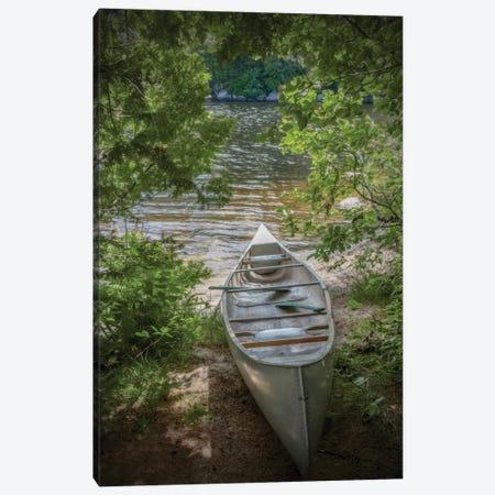 Canoe Canvas Print #BRY4} by Brooke T. Ryan Canvas Print