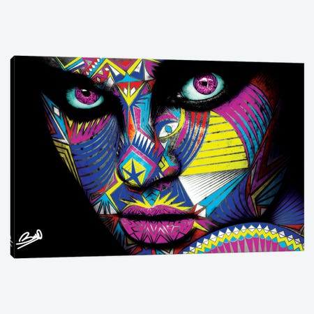 Angelita 3-Piece Canvas #BSA10} by Baro Sarre Canvas Artwork