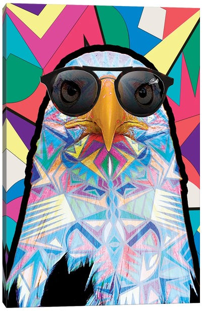 Animal Starz Aigle Canvas Art Print