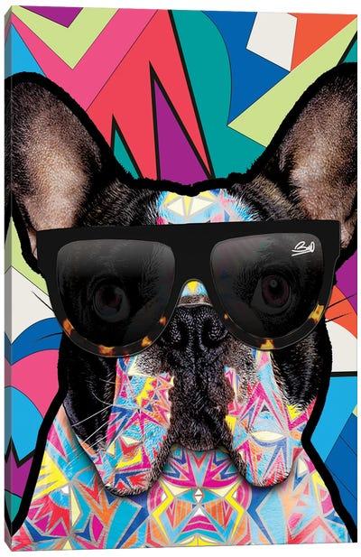 Animal Starz Bulldog Français Canvas Art Print