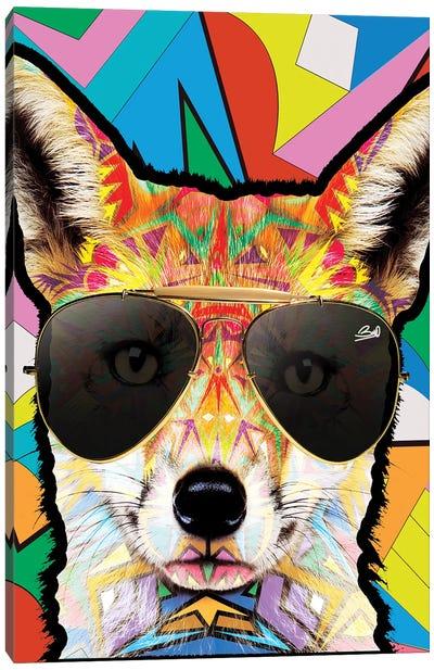 Animal Starz Renard Canvas Art Print