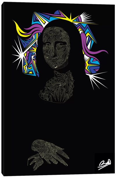 Baconde Canvas Art Print