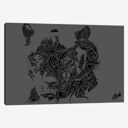 Black Panthere Canvas Print #BSA20} by Baro Sarre Canvas Print
