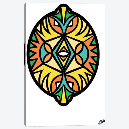 Citron Canvas Print #BSA24} by Baro Sarre Canvas Artwork