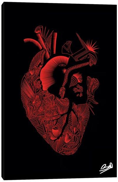 Coeur Canvas Art Print