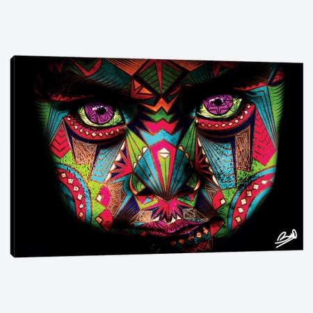 Decha 3-Piece Canvas #BSA27} by Baro Sarre Canvas Artwork