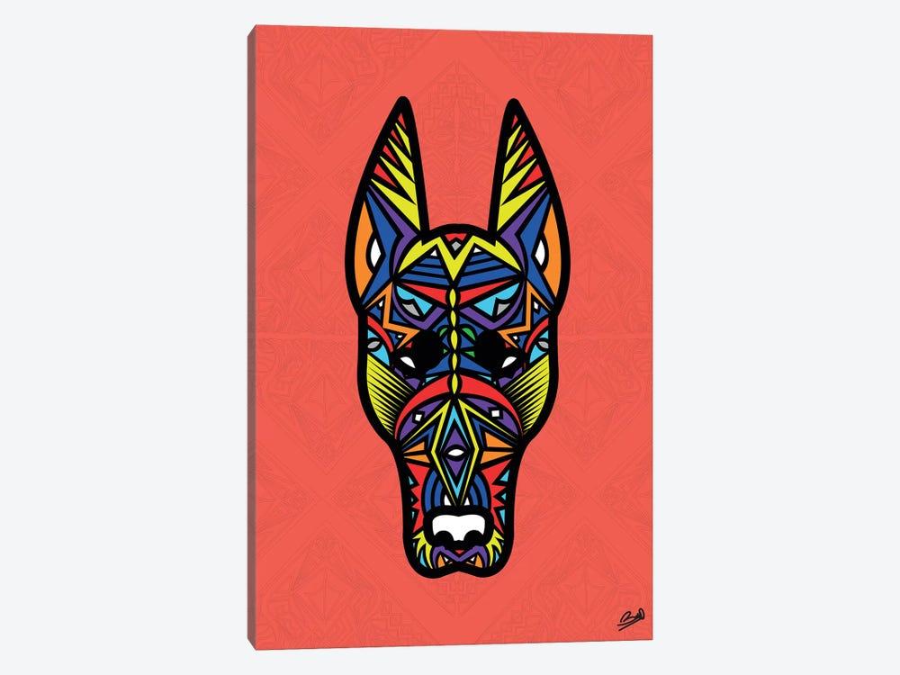 Doberman Sauvage by Baro Sarre 1-piece Art Print