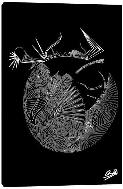 Adam Ou Eve Canvas Art Print