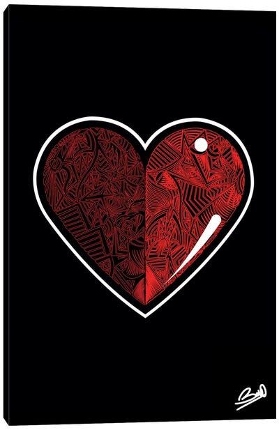 Extra Love Canvas Art Print
