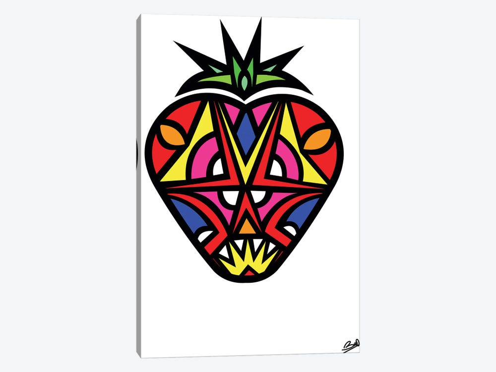 Fraise by Baro Sarre 1-piece Canvas Wall Art