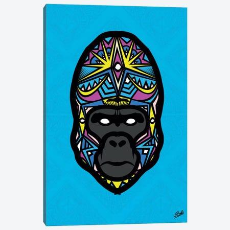 Gorille Sauvage Canvas Print #BSA36} by Baro Sarre Canvas Print