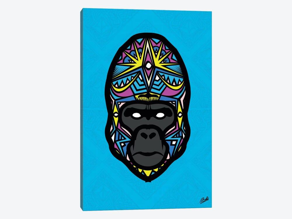 Gorille Sauvage by Baro Sarre 1-piece Canvas Artwork