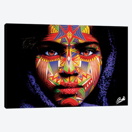 Ileana Canvas Print #BSA38} by Baro Sarre Canvas Art