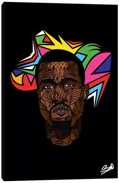 Kanye West Canvas Art Print