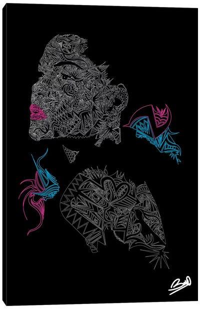 Le Jardin Canvas Art Print