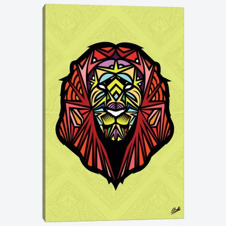 Lion Sauvage Canvas Print #BSA43} by Baro Sarre Canvas Print