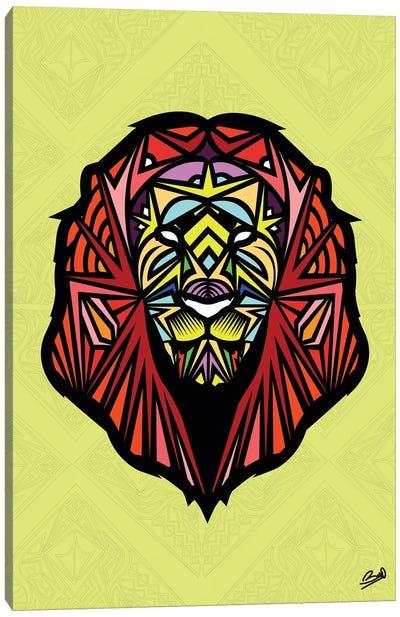 Lion Sauvage Canvas Art Print