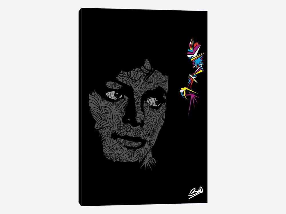 Michael Jackson by Baro Sarre 1-piece Art Print