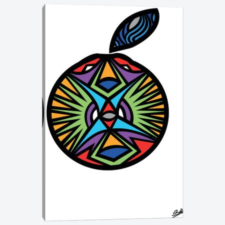 Orange Canvas Print #BSA48} by Baro Sarre Art Print