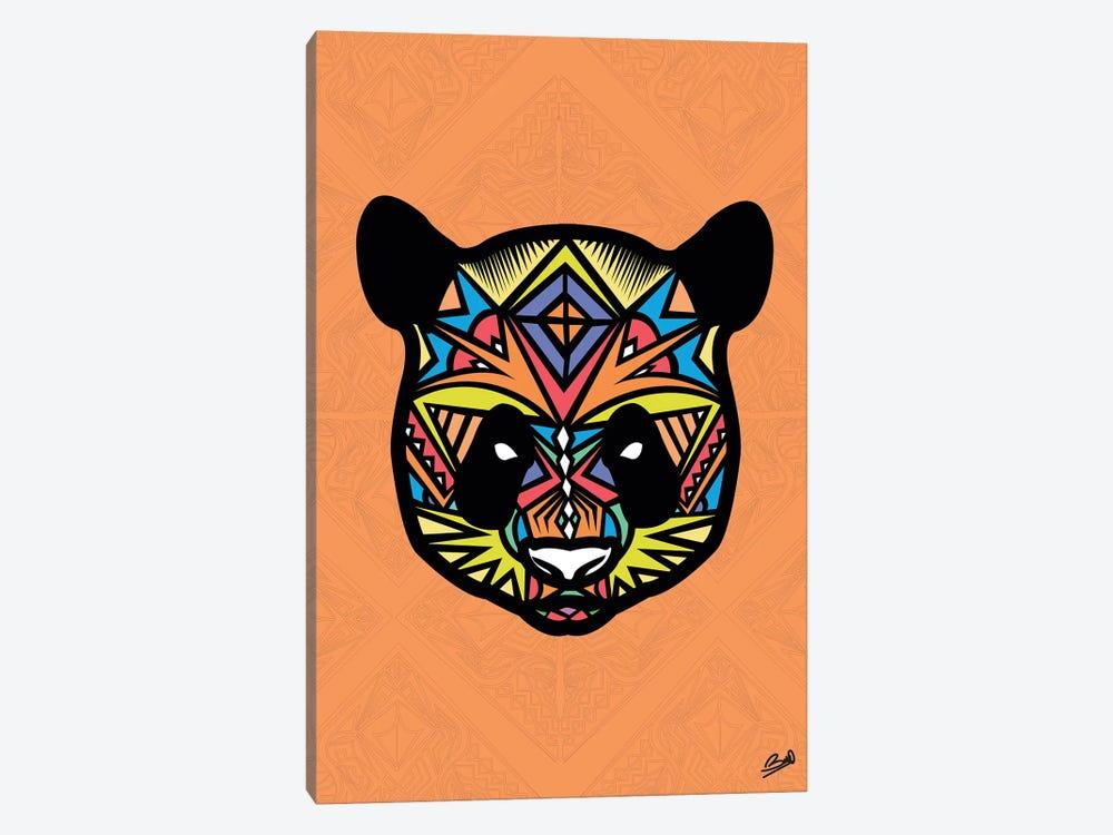 Panda Sauvage by Baro Sarre 1-piece Canvas Artwork
