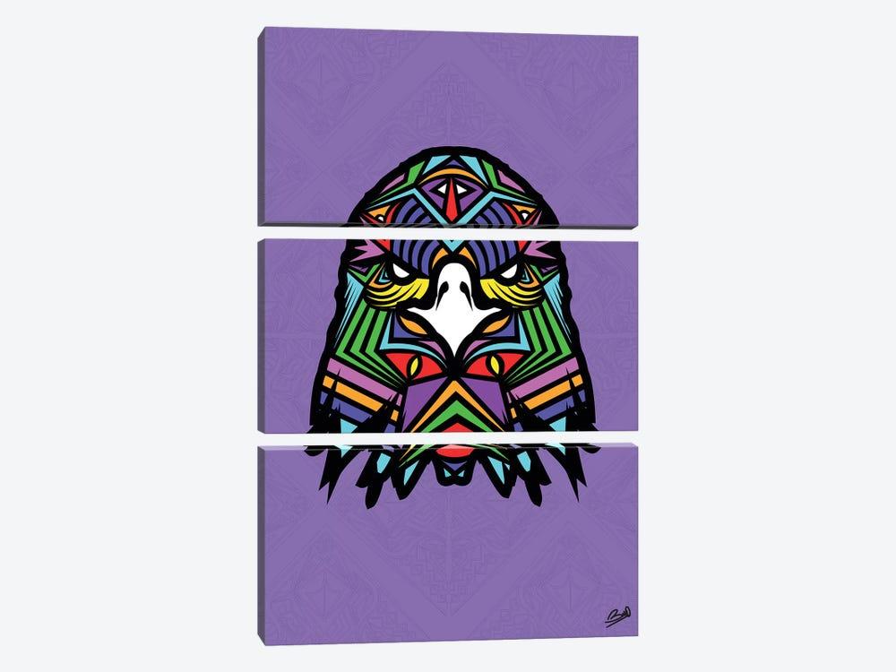 Aigle Sauvage by Baro Sarre 3-piece Canvas Print