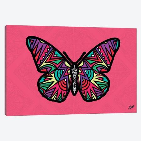 Papillon Sauvage Canvas Print #BSA50} by Baro Sarre Canvas Wall Art