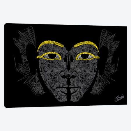 Pharaon Canvas Print #BSA51} by Baro Sarre Canvas Wall Art