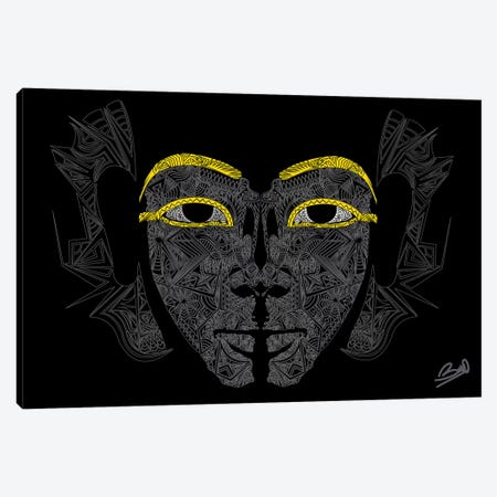 Pharaon Canvas Print #BSA51} by Baro Sarre Canvas Wall Art