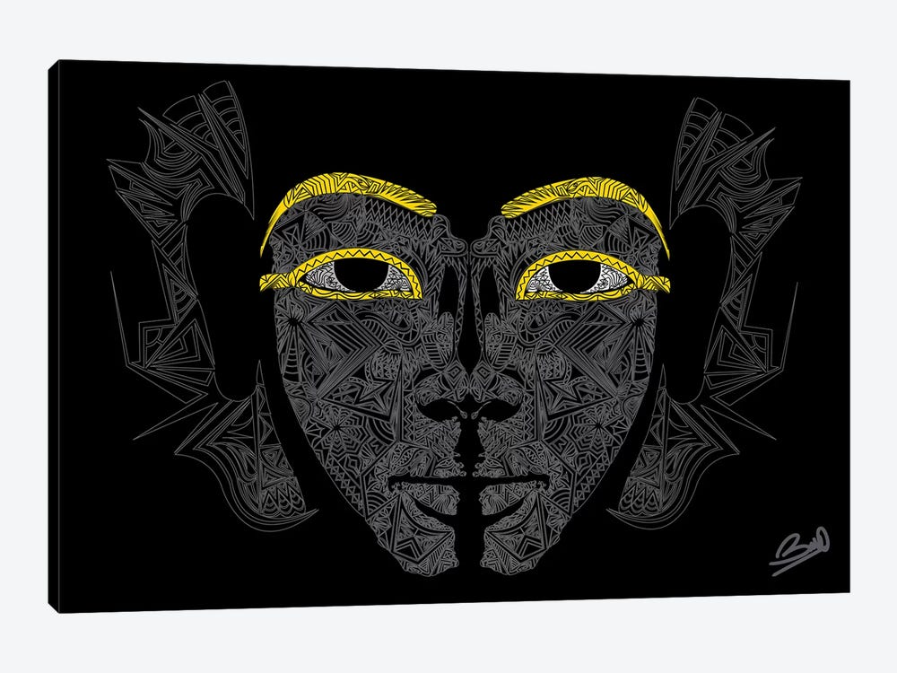 Pharaon by Baro Sarre 1-piece Canvas Print