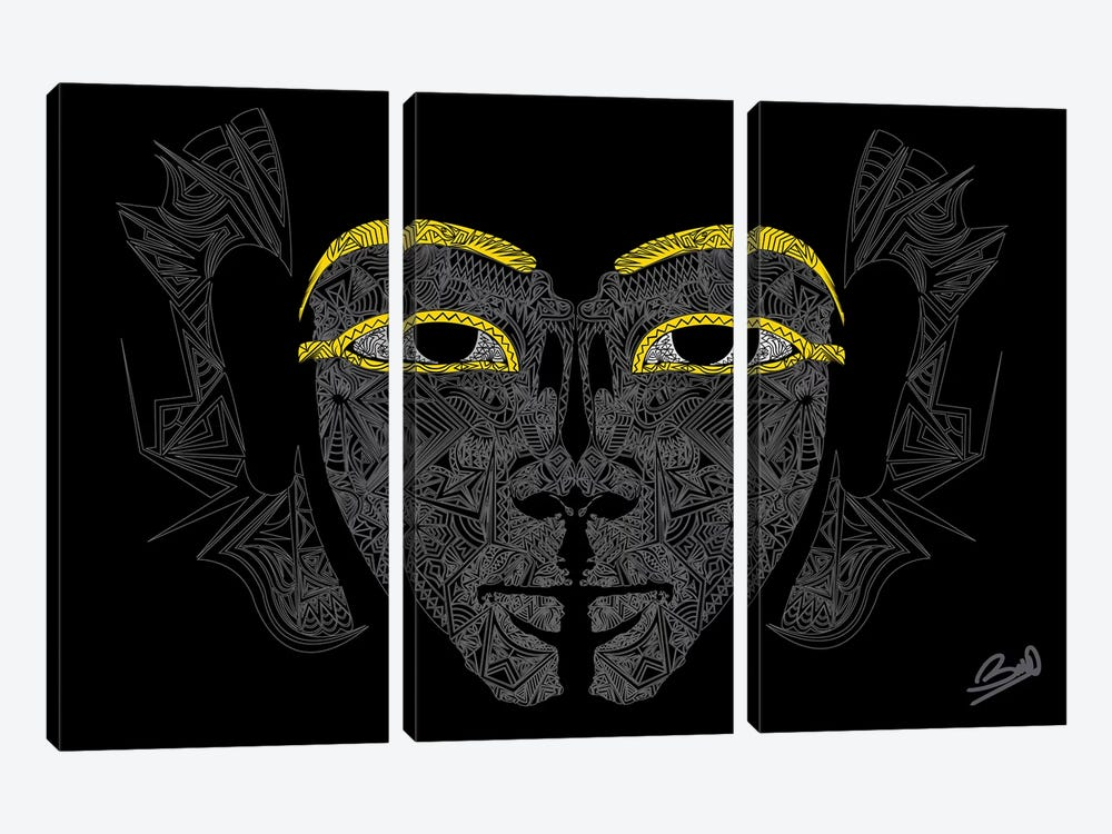 Pharaon by Baro Sarre 3-piece Art Print