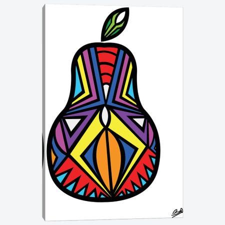 Poire Canvas Print #BSA53} by Baro Sarre Canvas Wall Art